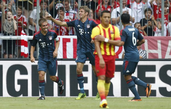 Бавария обыграла Барселону