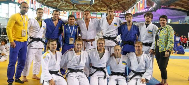 Украина выиграла четыре медали на молодежном чемпионате Европы по дзюдо