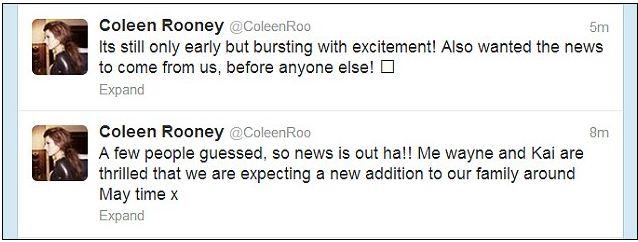 Сообщения в Твиттере от Колин