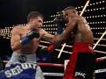 Деревянченко раздельным решением судей проиграл Джейкобсу чемпионский бой