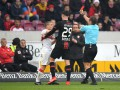 Игрок Штутгарта дисквалифицирован до конца сезона за плевок в соперника