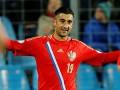 Азербайджанцы закидали игрока сборной России во время матча (+ ВИДЕО)