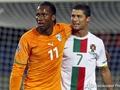 Роналдо vs Дрогба. Ивуарийцы и Португалия делят очки