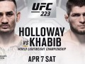 Нурмагомедов – Холлоуэй: видео онлайн трансляция боя UFC 223