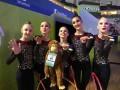 Украинские юниорки вышли в финал чемпионата Европы по художественной гимнастике