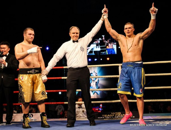 Александр Усик одержал чистую победу