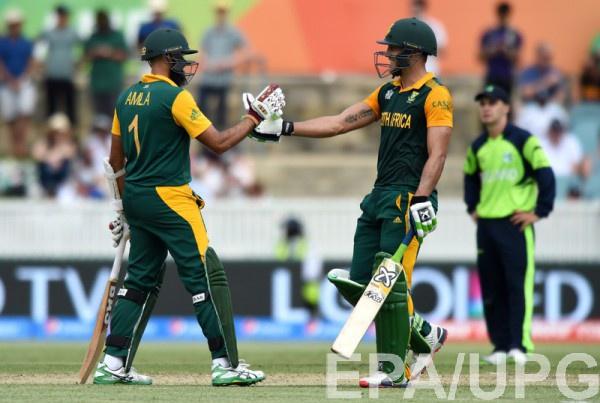 В ЮАР ограничат количество белых игроков в крикете