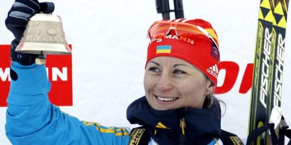 Валентина Семеренко выиграла гонку преследования