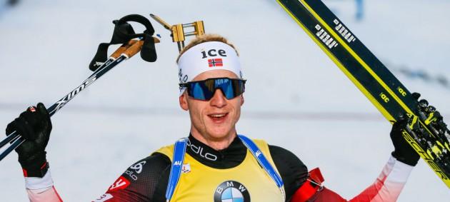 Биатлон: Норвегия выиграла мужскую эстафету в Хохфильцене, Украина - 11-я
