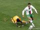Криштиано Роналдо был самым заметным игроком матча
