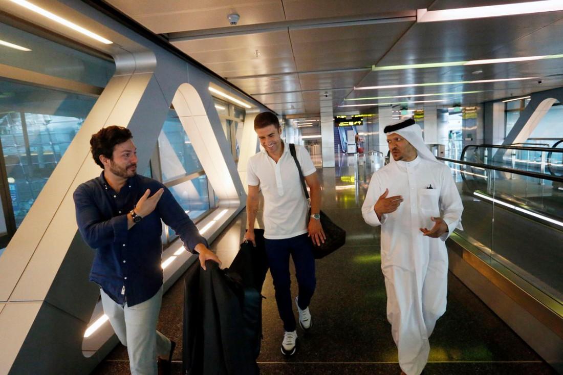 Габи Фернандес прибыл в Катар