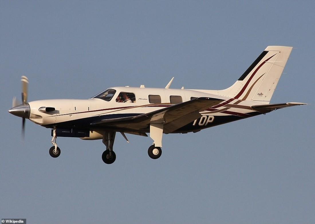 Модель самолета, на которой летел новичок Кардиффа