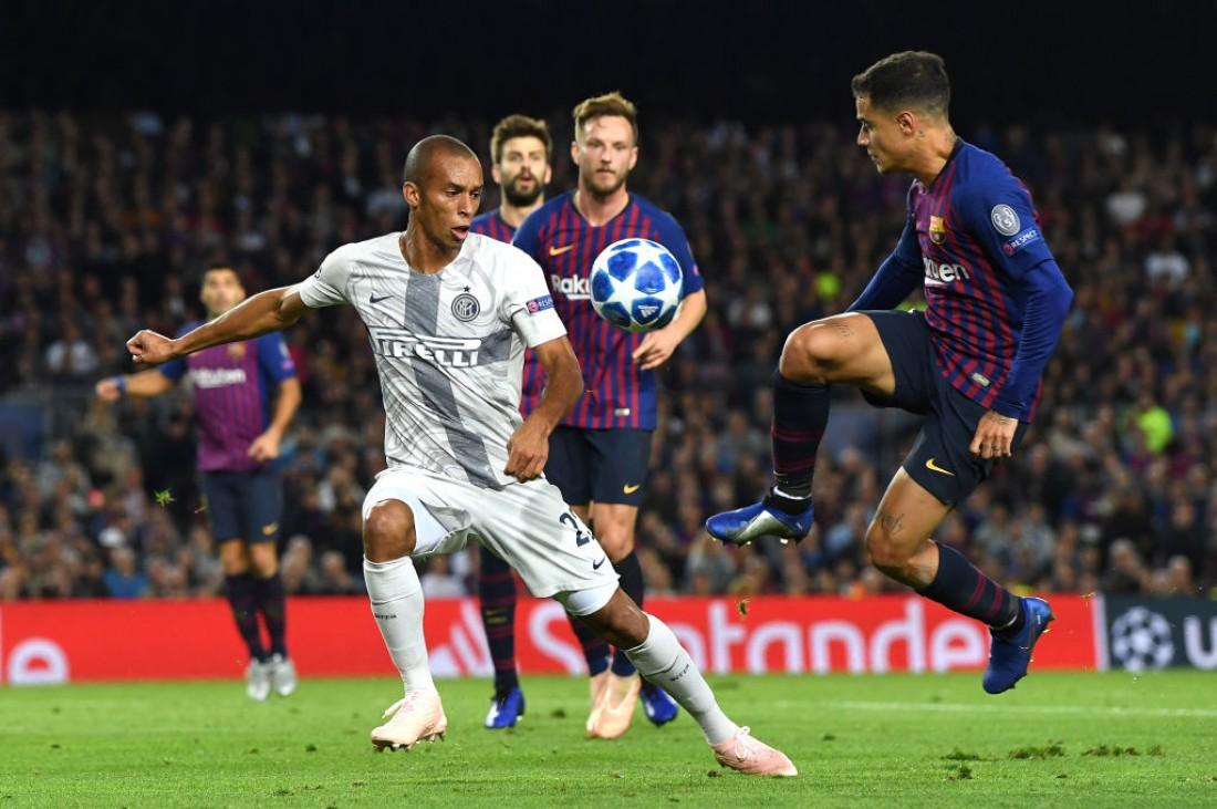 Видео голов и обзор матча Барселона - Интер
