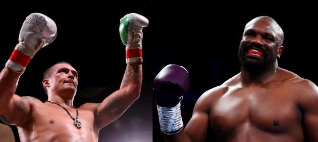 Усик и Чисора могут провести бой за временный пояс WBO