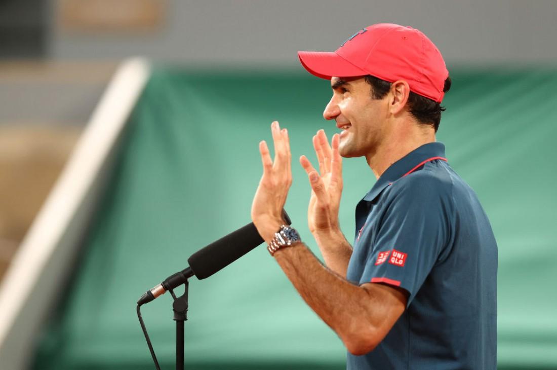 Роджер Федерер после матча