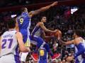 НБА: Детройт обыграл Голден Стэйт, Миннесота проиграла Бостону