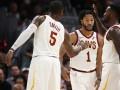 НБА: эффектный аллей-уп Роуза на Грина среди лучших моментов дня