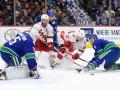НХЛ: Ванкувер в овертайме обыграл Каролину, Нэшвилл не сумел обыграть Баффало