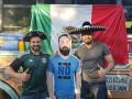 Мексиканские фанаты привезли в Россию картонную копию друга, которого жена на пустила на ЧМ