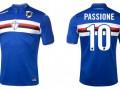 Сампдория выпустила футболки с чипом, содержащим запись кричалок клуба