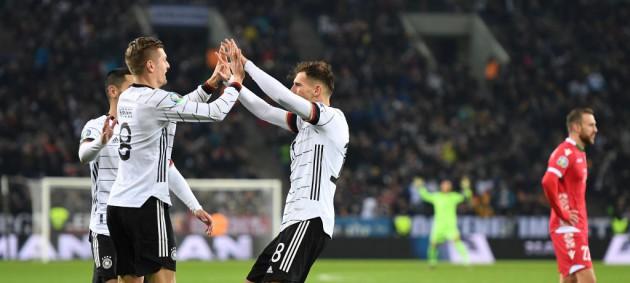 Германия разгромила Беларусь и вышла на Евро-2020