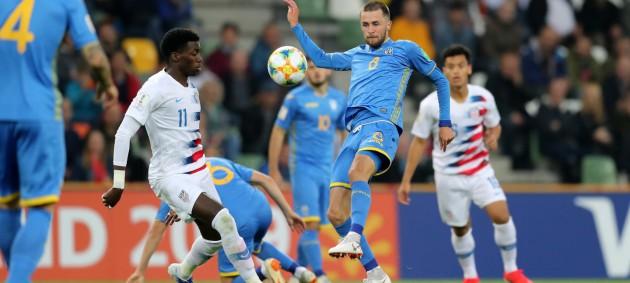 Сборная Украины U-20 с победы стартовала на чемпионате мира по футболу