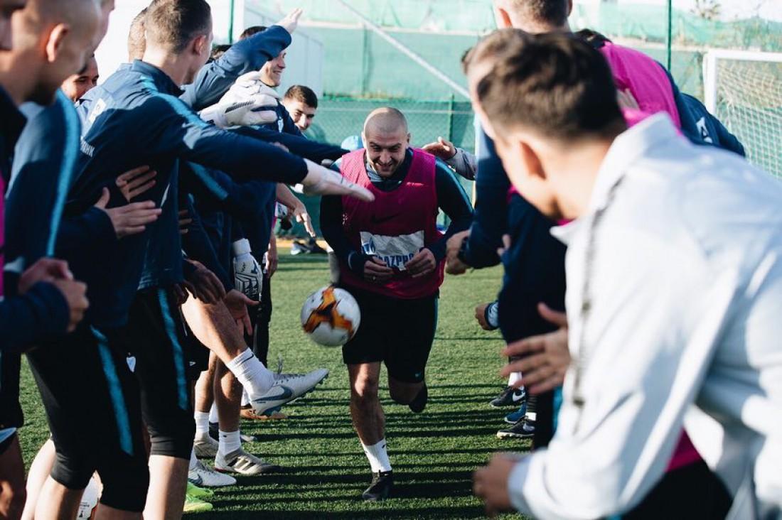 Ярослав Ракицкий провел первую тренировку в Зените
