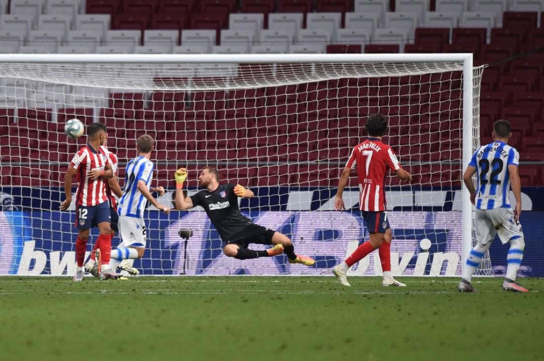 Атлетико - Реал Сосьедад: видео голов и обзор матча