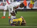 Безус получил трехматчевую дисквалификацию за удар соперника по лицу