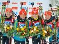 Потрясающий успех. Украина побеждает в эстафете на Кубке мира по биатлону