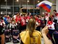 Сборную России на Олимпиаду в Рио провожала оплаченная массовка