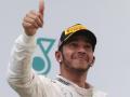 Льюис Хэмилтон рад победе Росберга на Гран-при Испании