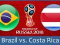 Бразилия – Коста-Рика 2:0 как это было