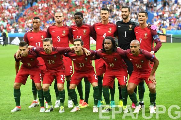 Сборная Португалии перед финальным матчем Евро-2016