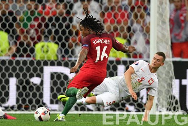 Ренату Саншеш забил гол в ворота Польши