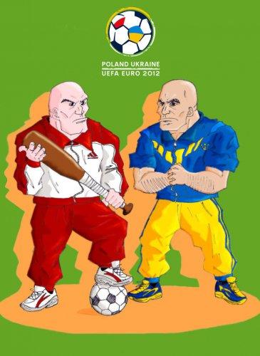 Гопник и Гопко - талисманы Евро-2012. Такими их видят европейцы