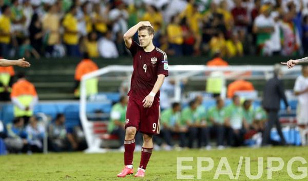 Кокорин не забил пенальти Катару