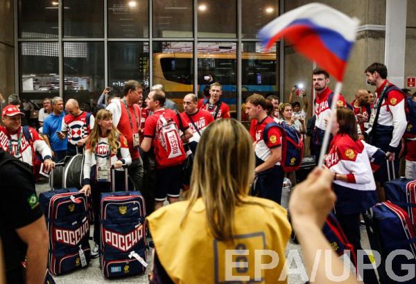Олимпийская сборная России отправилась в Рио