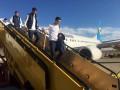 Сборная Украины прилетела в Словакию на матч Лиги наций