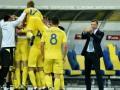 Рейтинг ФИФА: Украина потеряла одну строчку, но осталась в топ-25