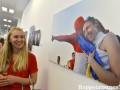 В Киеве открылась фотовыставка, посвященная Евро-2012