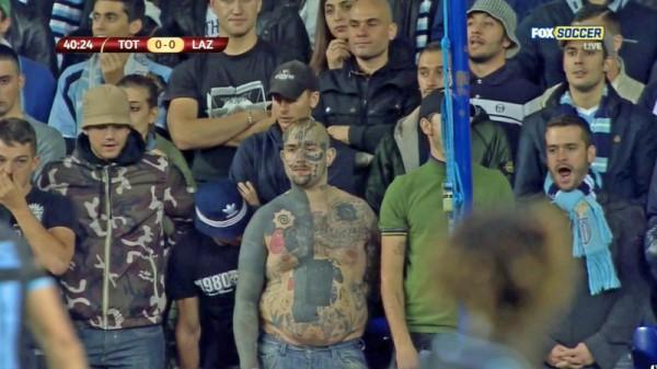 Фанаты Лацио всегда отличались буйным нравом