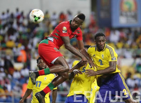 Сборная Габона сыграла вничью впервом матче Кубка африканских наций
