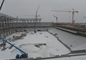 Мэр Львова: Стадион к Евро-2012 готов на 50%