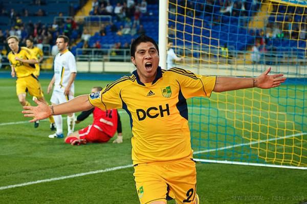 Джонатан Кристальдо (Металлист) – 15 матчей, 8 голов