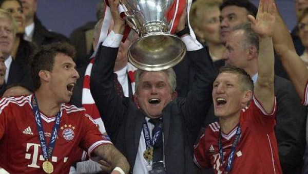 Юпп Хайнкес выиграл Лигу чемпионов 2012-2013 с Баварией