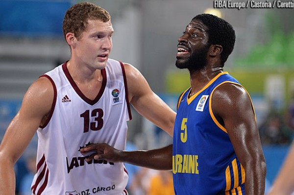 Латвия переиграла Украину