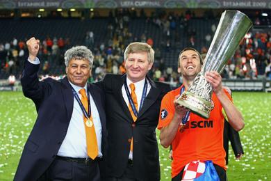 Вершиной успеха Шахтера стала победа в Кубке УЕФА