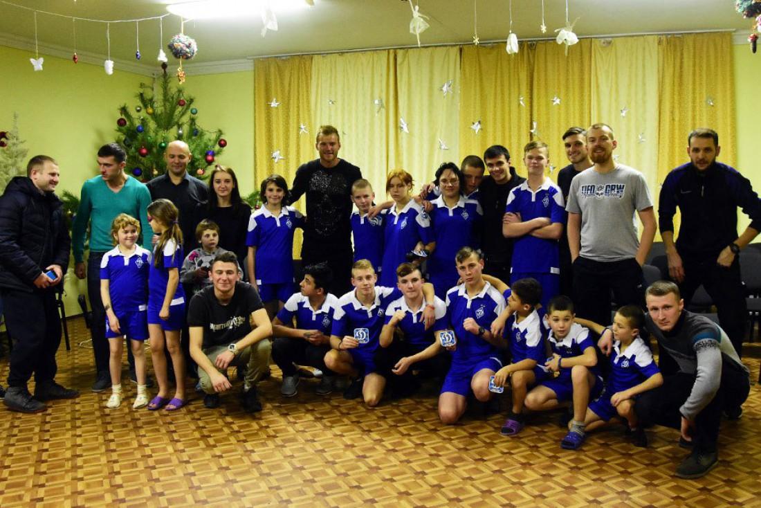 Андрей Ярмоленко посетил детский дом