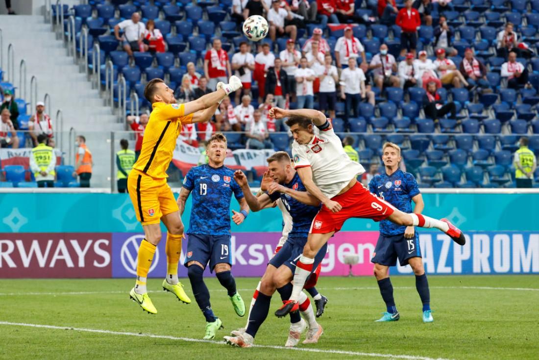 Сборная Польши - сборная Словакии